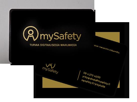 B2B RFID-suojauskortti