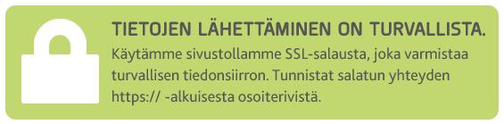 Käytämme sivustollamme SSL-salausta.