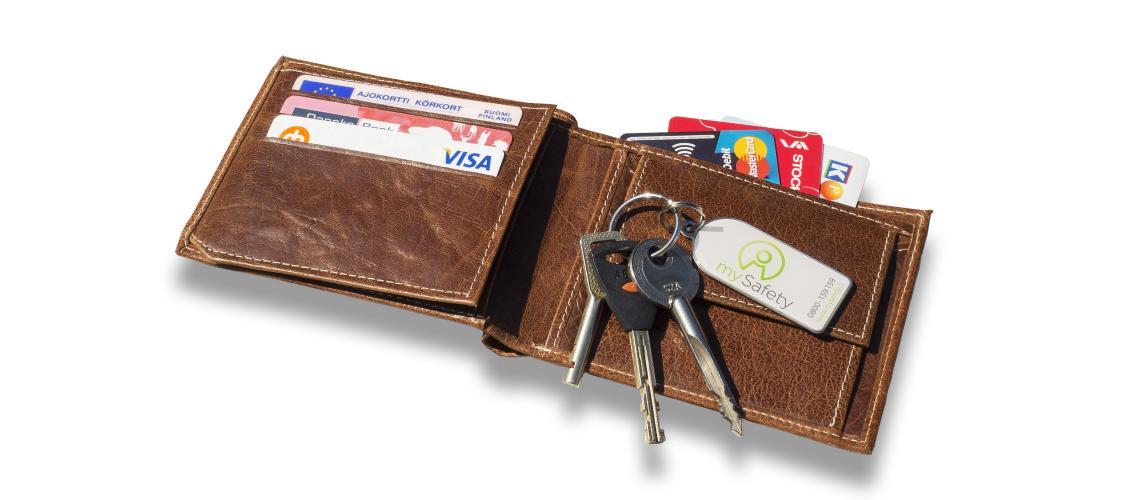 Kun lompakko katoaa