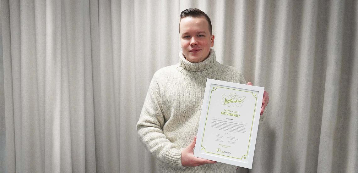 Sami Kieksi antaa dokumenttitöillään muille mahdollisuuden avautua kiusaamiskokemuksista – palkittiin tammikuun Nettienkelinä