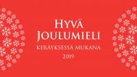 mySafety on mukana Hyvä Joulumieli -keräyksessä 2019