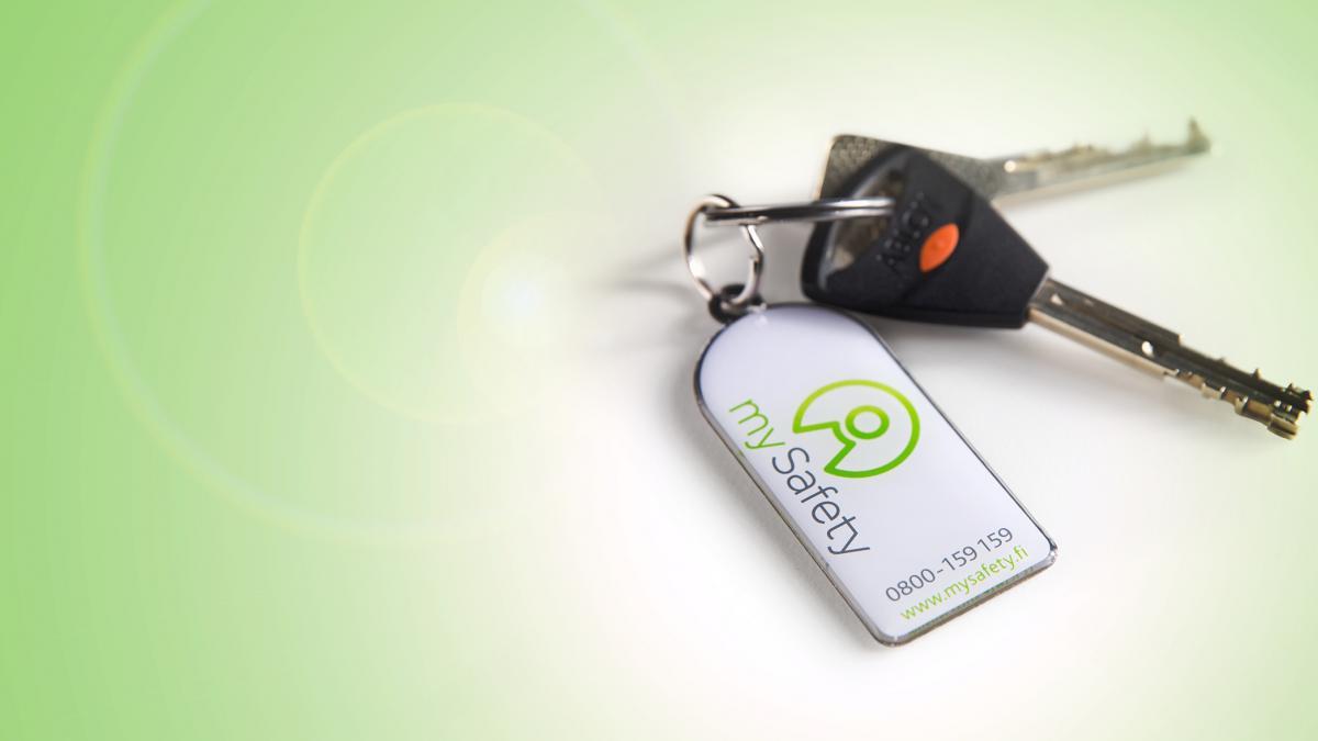 mySafetyn Turva-avaimenperä