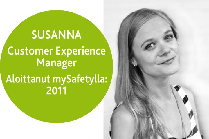 Customer Experience Manager Susanna